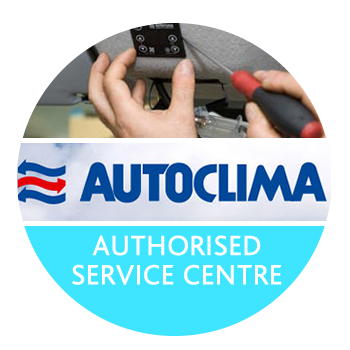 Authorised service centre for Autoclima S.p.A